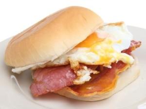 Hot Breakfast Roll - MacPhees Catering Glasgow