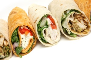 sandwich wraps - MacPhees Catering Glasgow
